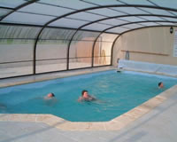 The new indoor heated swimming pool